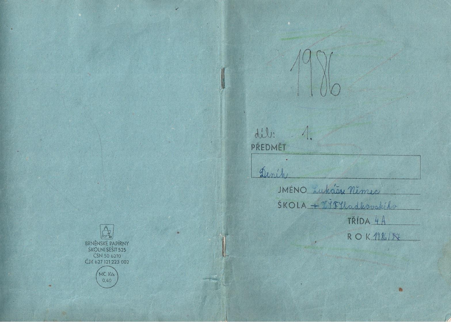 Deník I. - desky