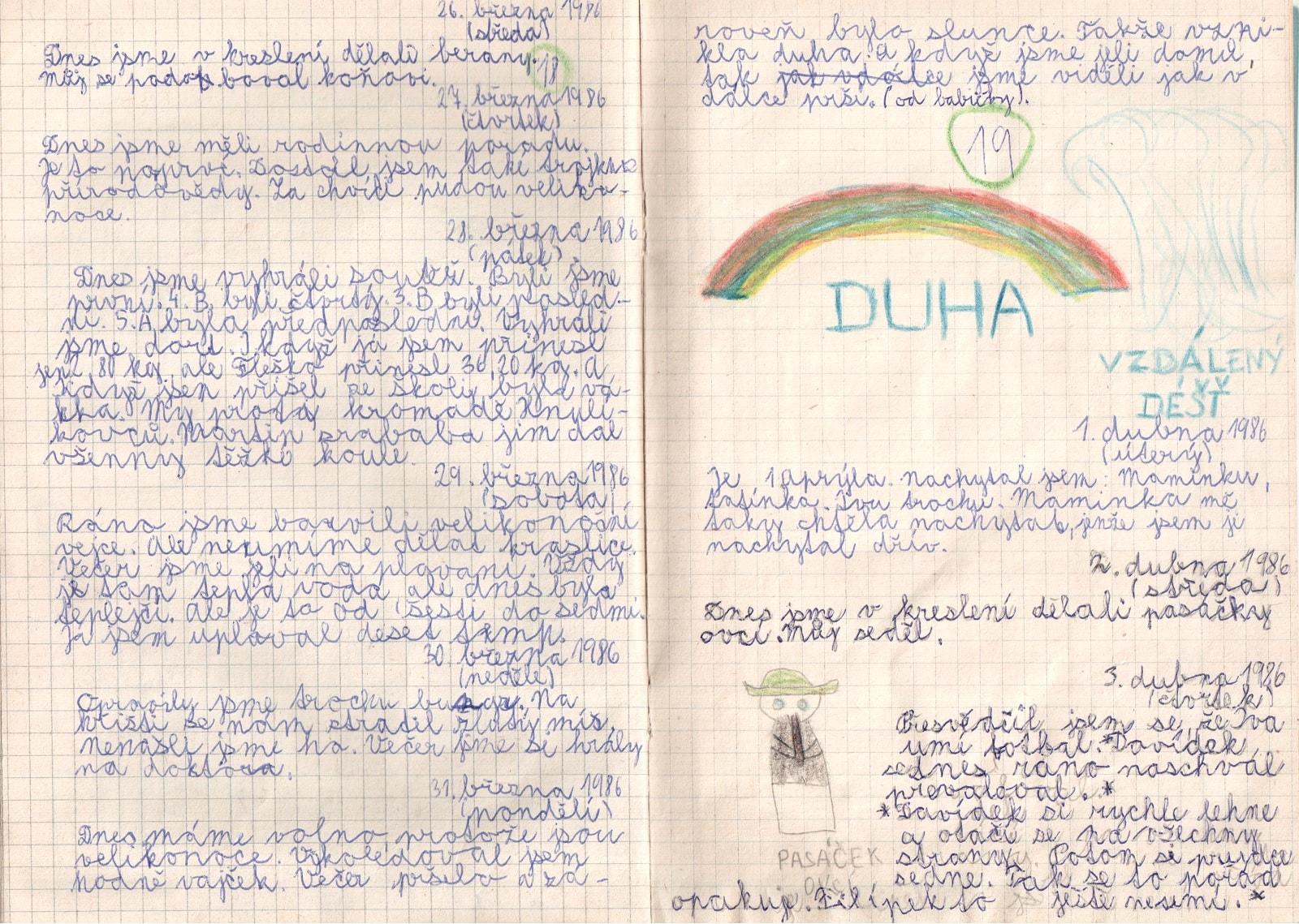 Deník I. - strana 10