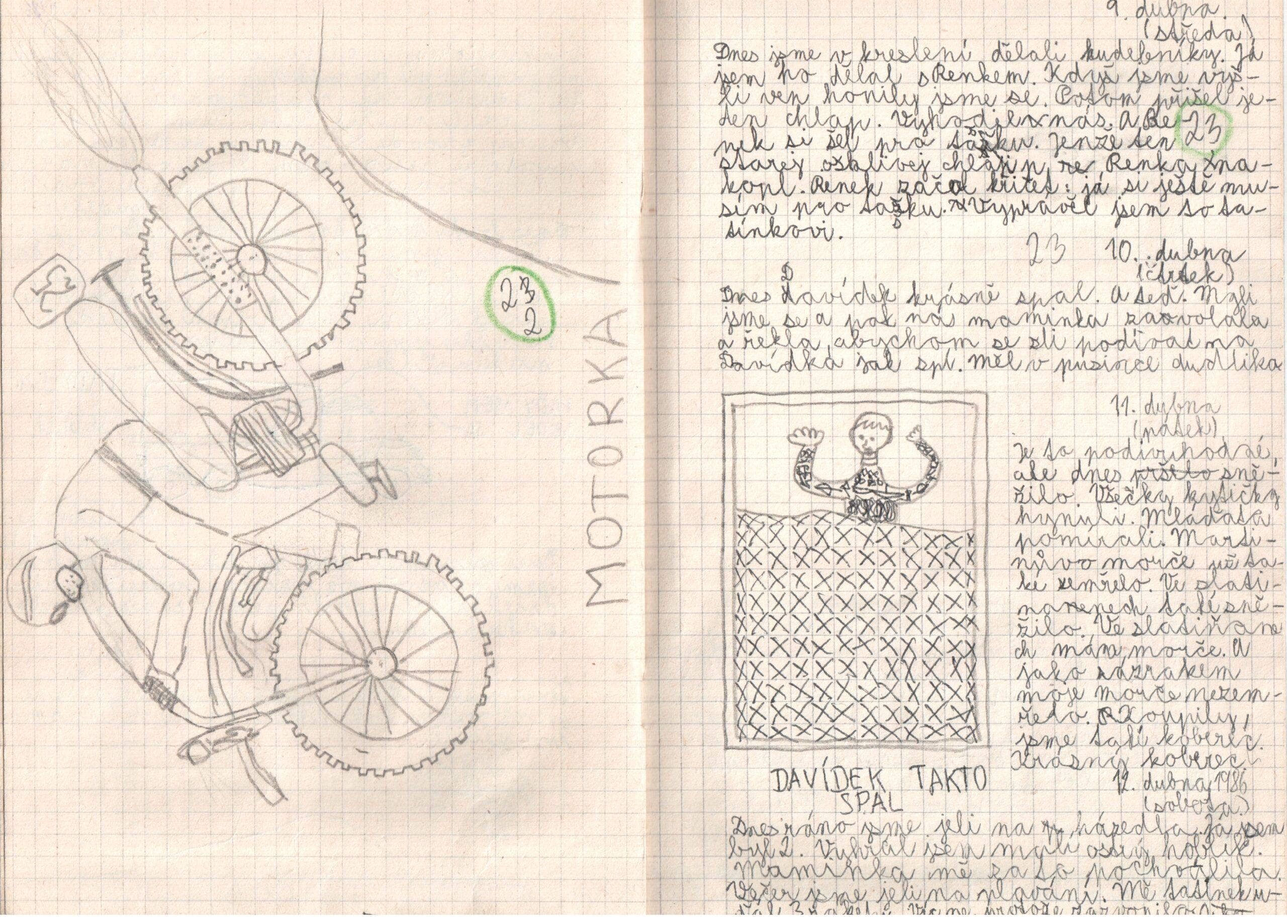 Deník I. - strana 12