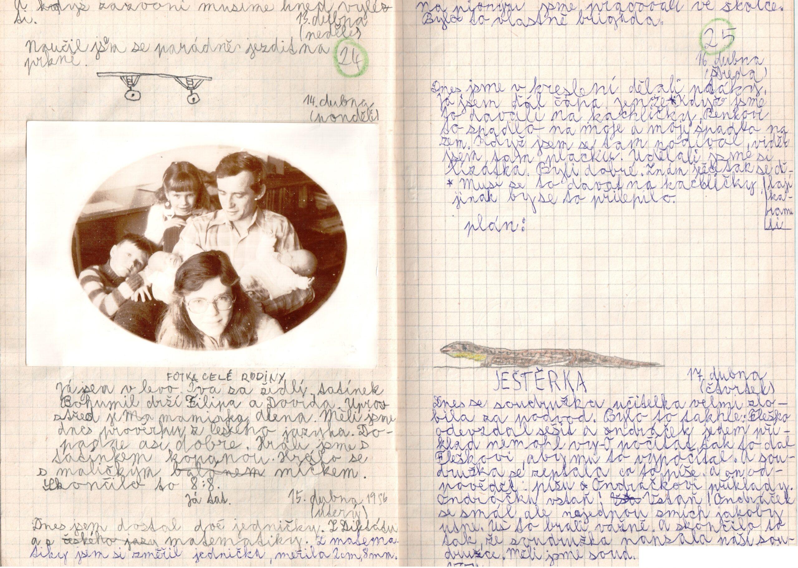 Deník I. - strana 13