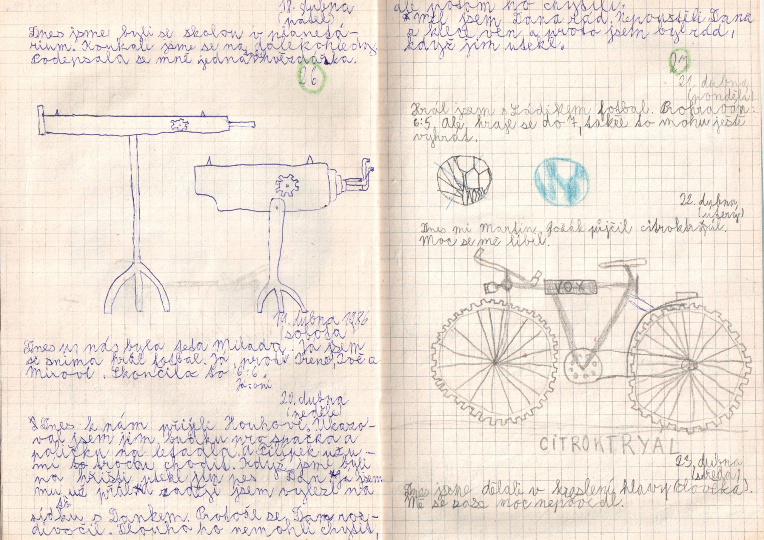 Deník I. - strana 14