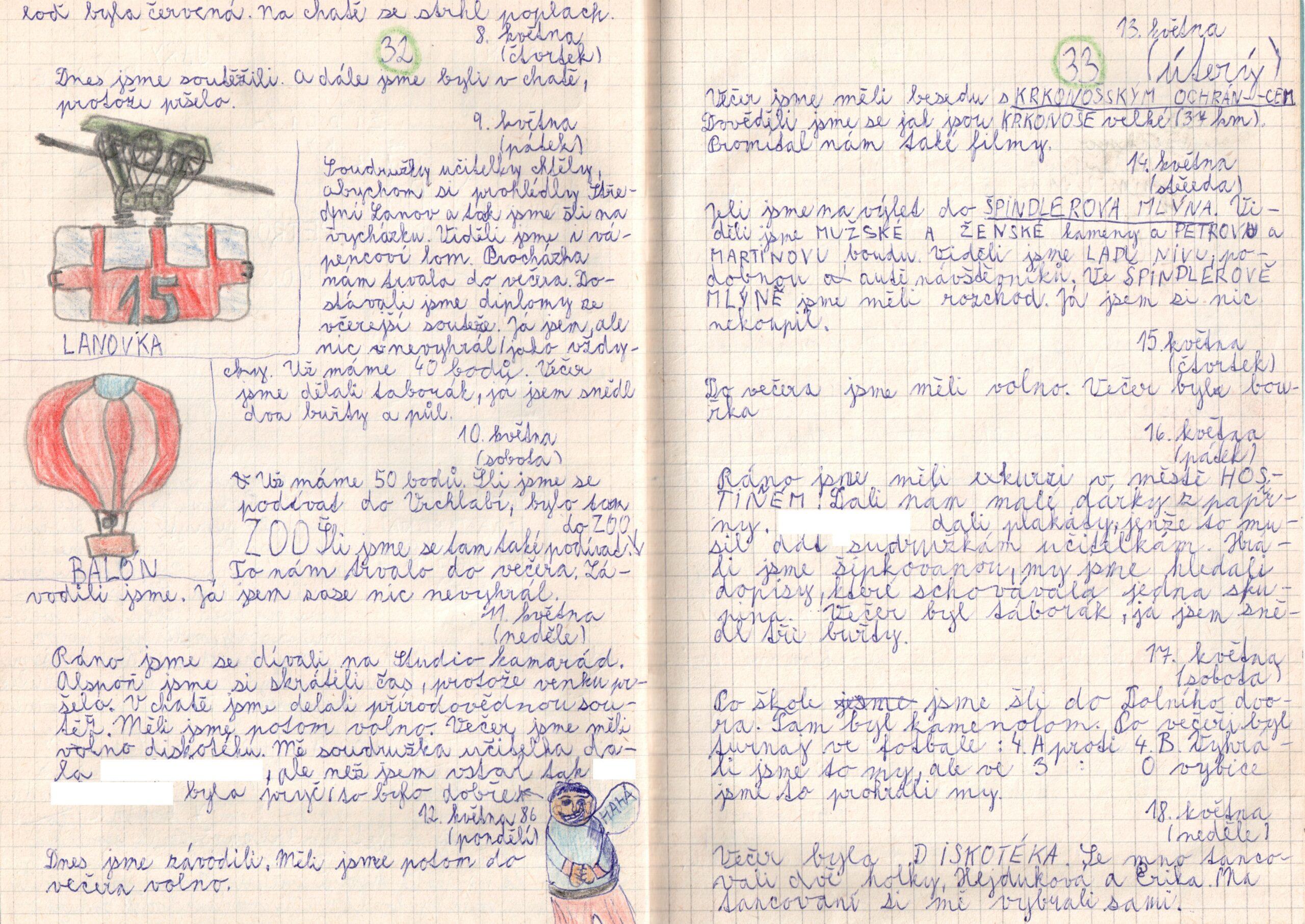 Deník I. - strana 17