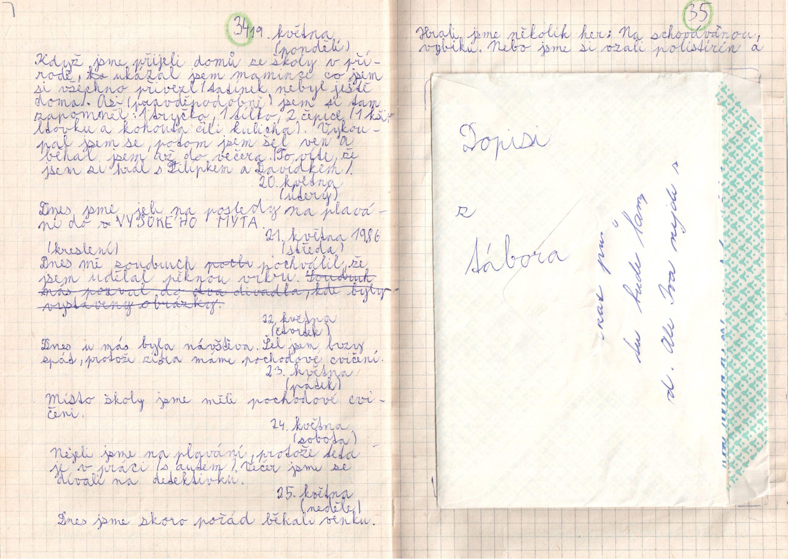 Deník I. - strana 18