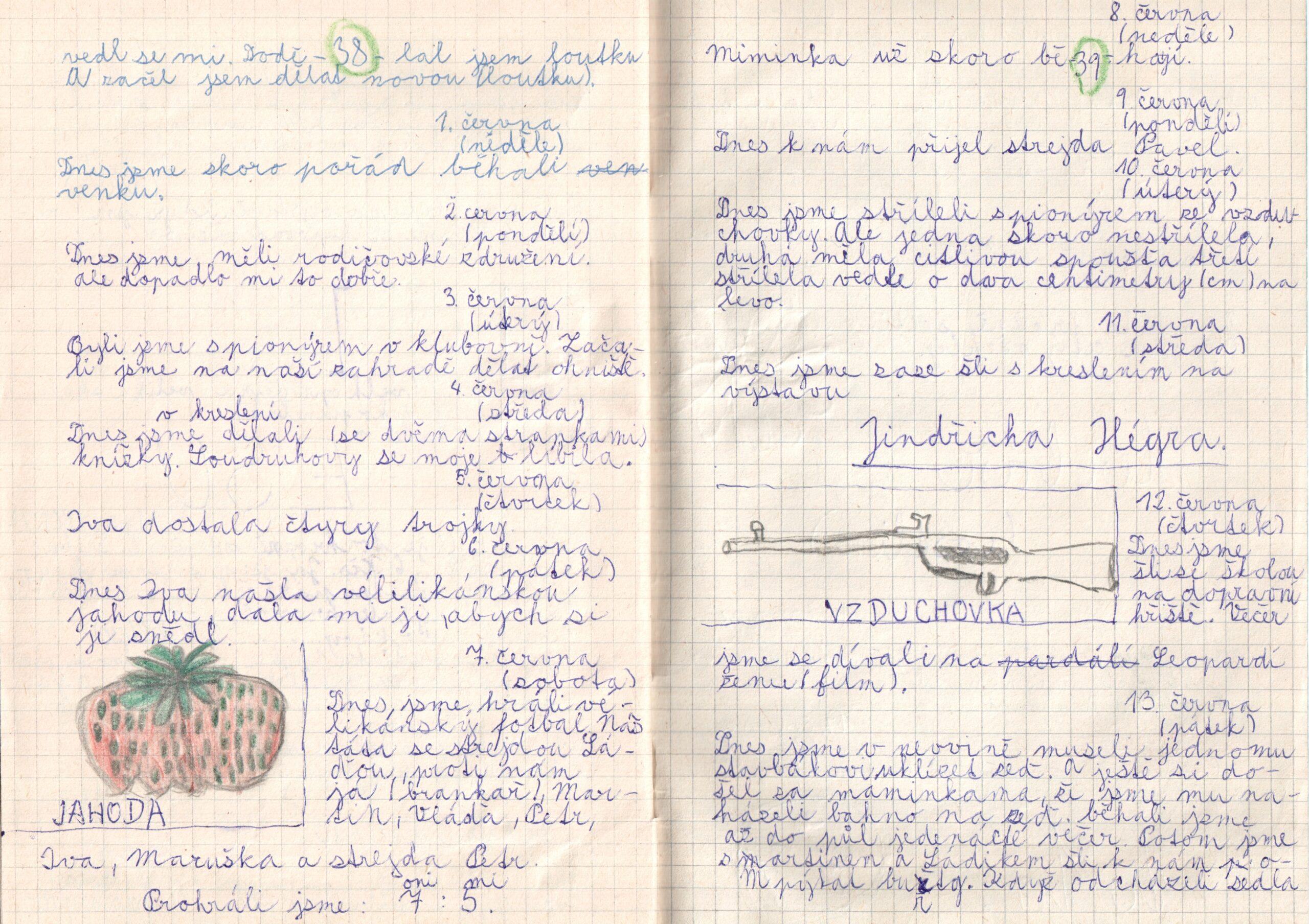 Deník I. - strana 20