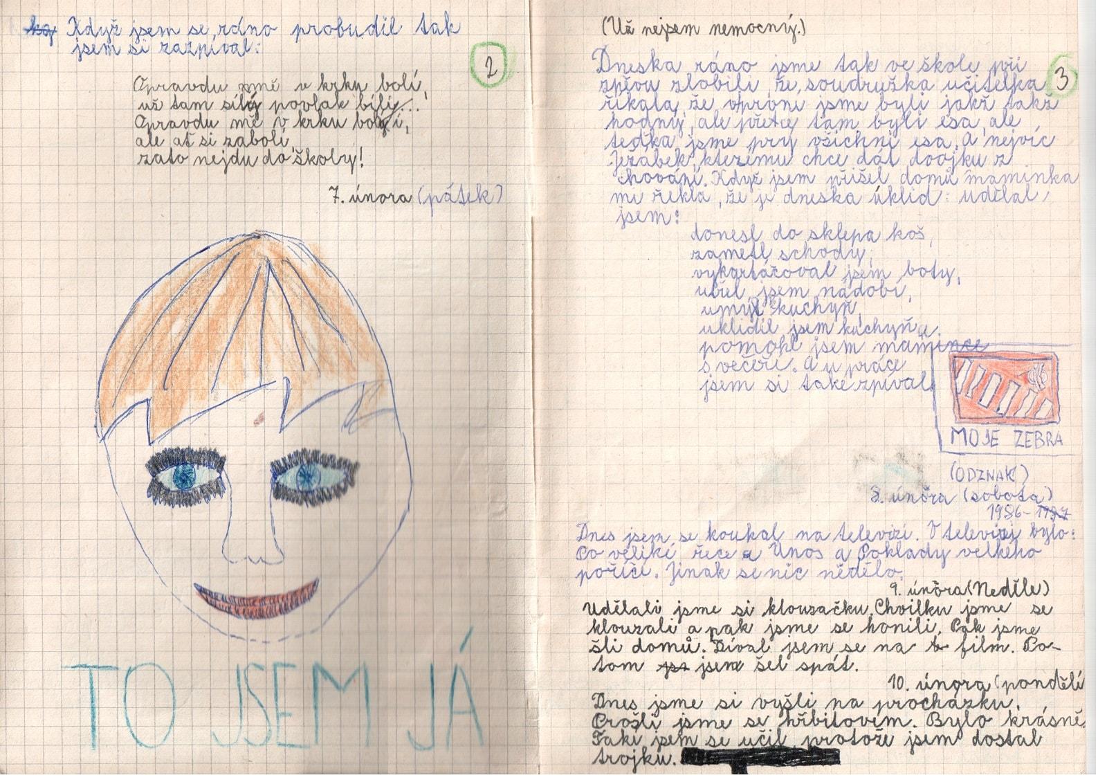 Deník I. - strana 2