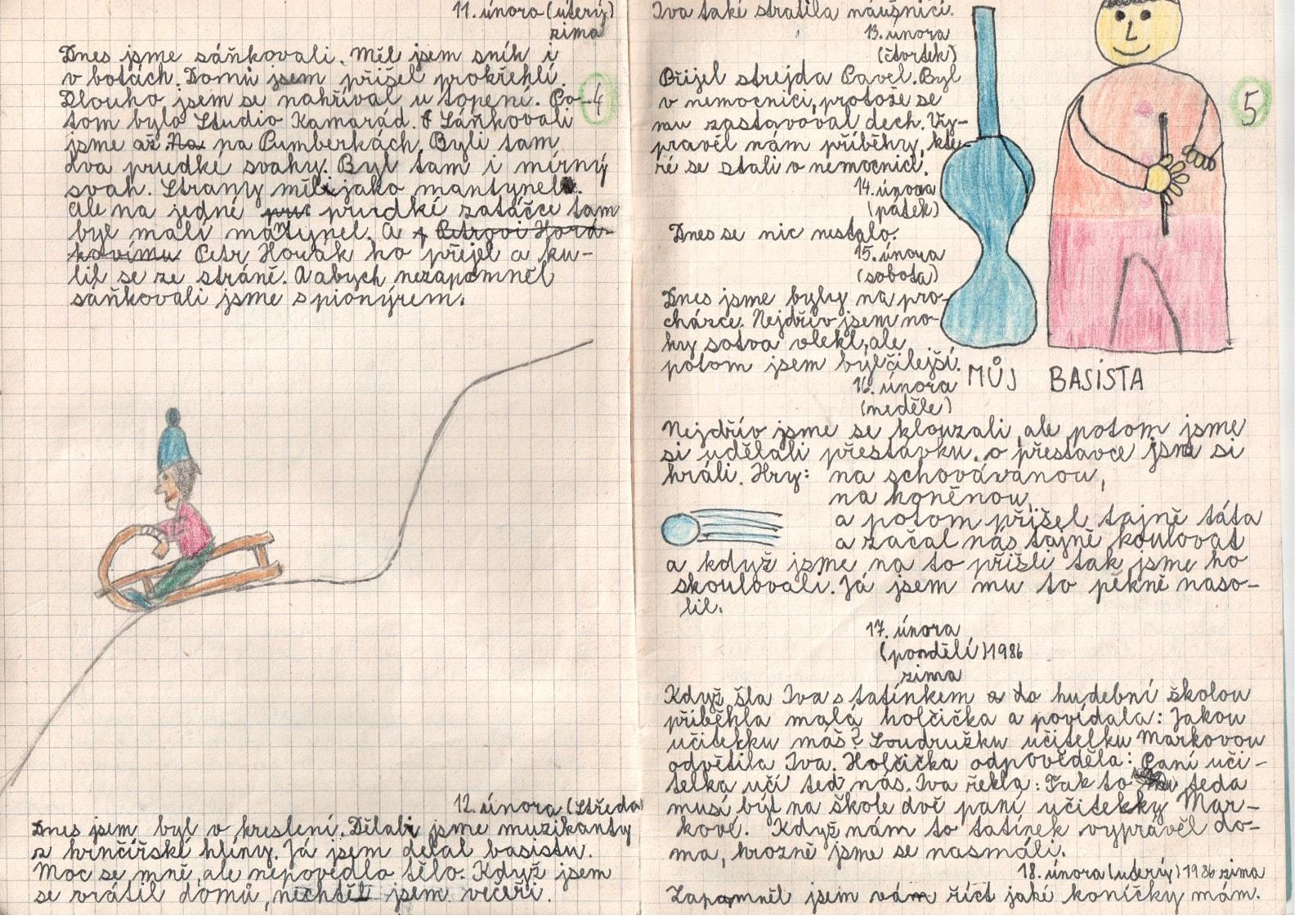 Deník I. - strana 3