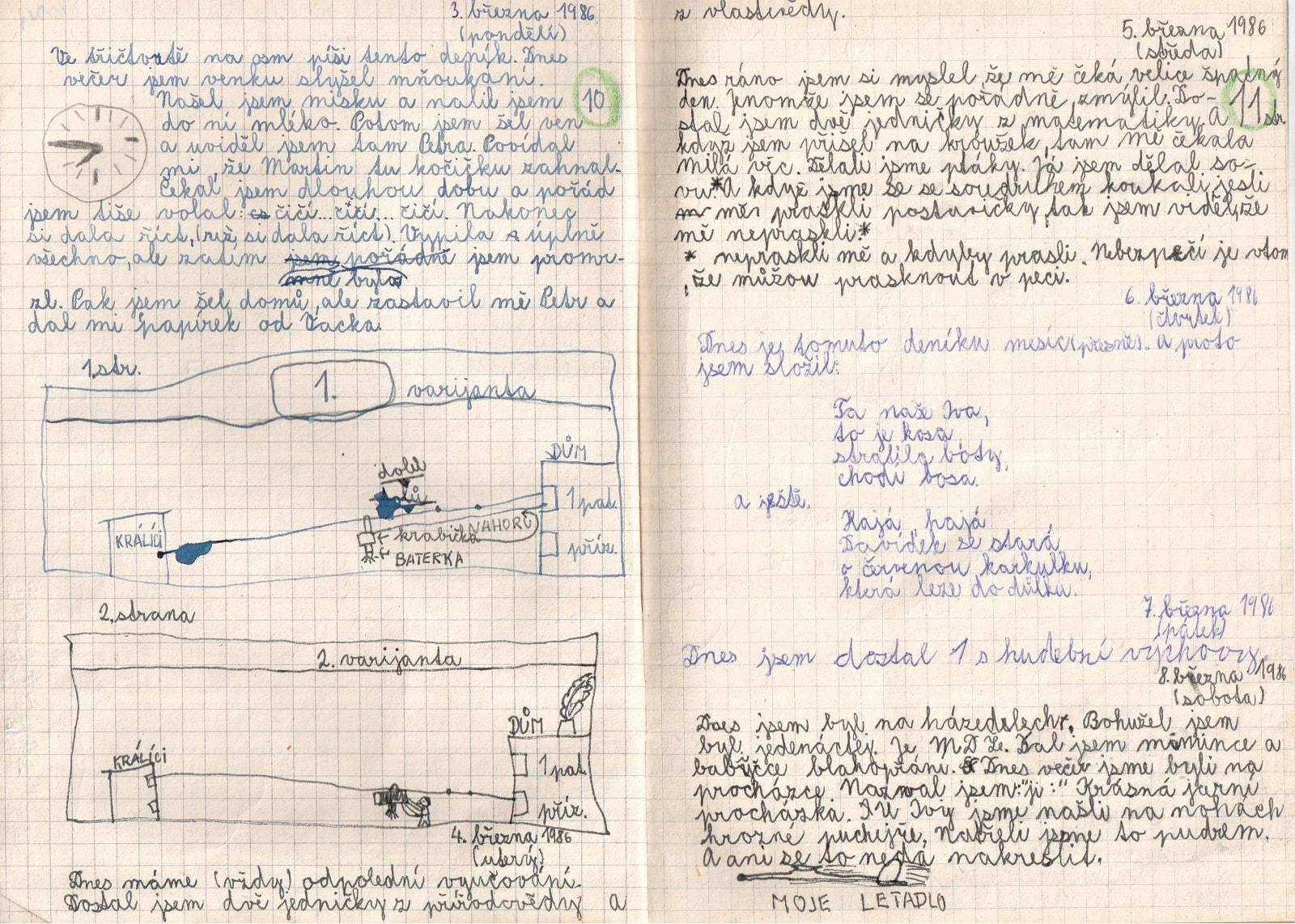 Deník I. - strana 6