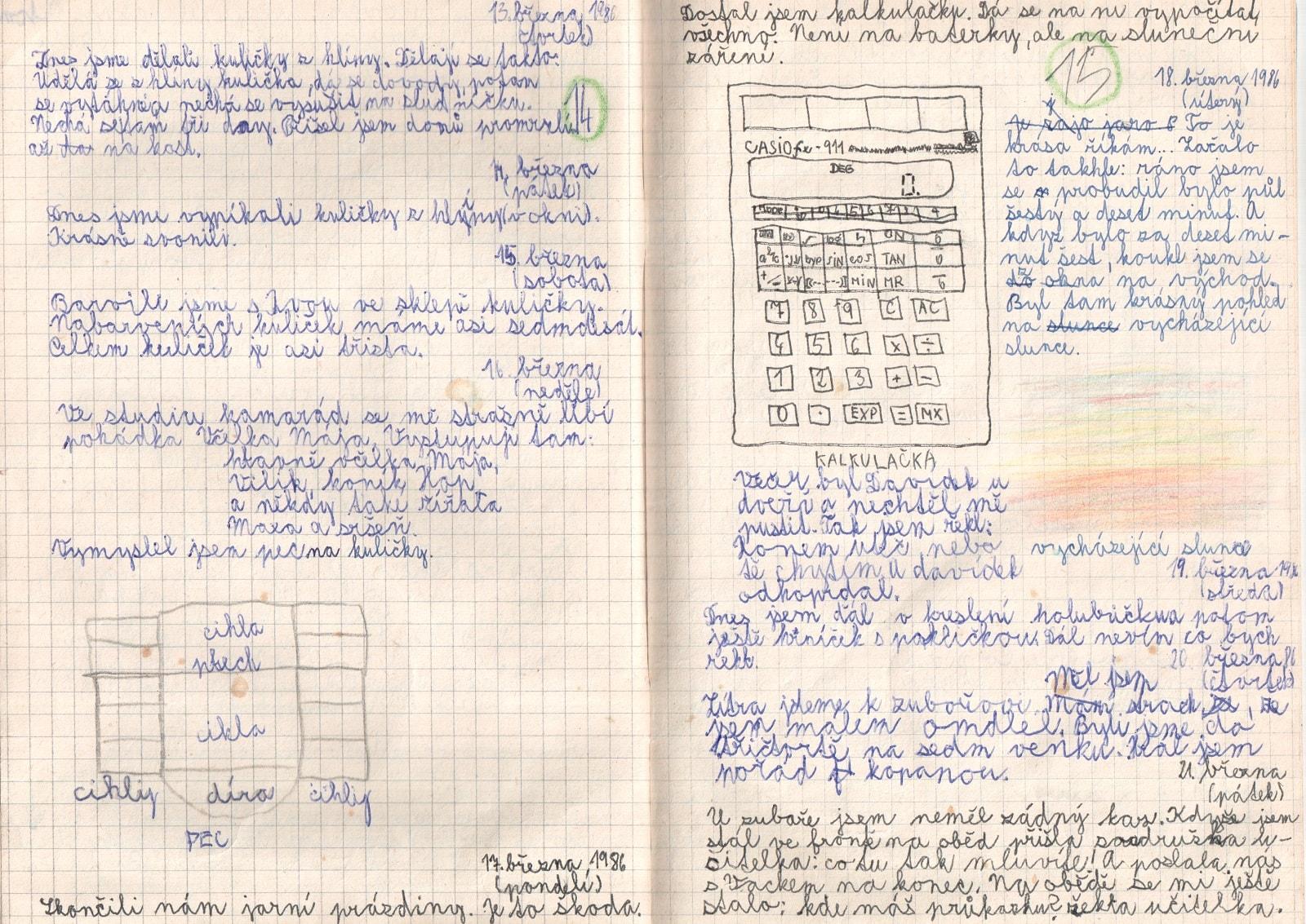 Deník I. - strana 8