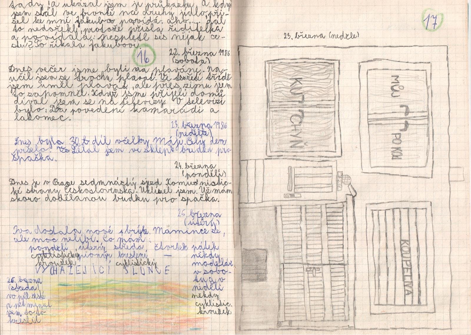 Deník I. strana 9