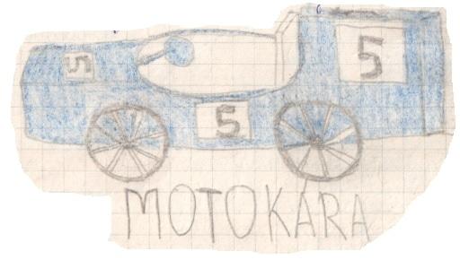 Motokára pětka