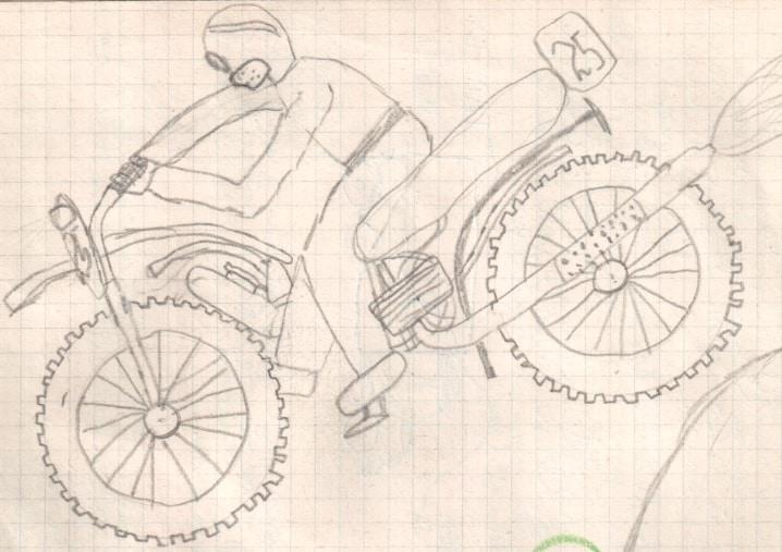 Terénní motorka