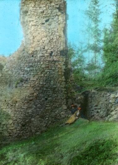 Zřícenina hradu Rabštejnek