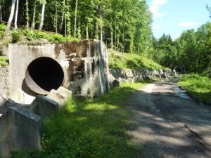 Přivaděč vody ze sečské přehrady - probíhající rekonstrukce