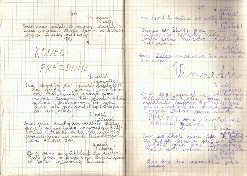 Deník II. - strana 10