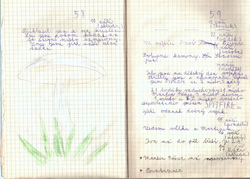 Deník II. - strana 11