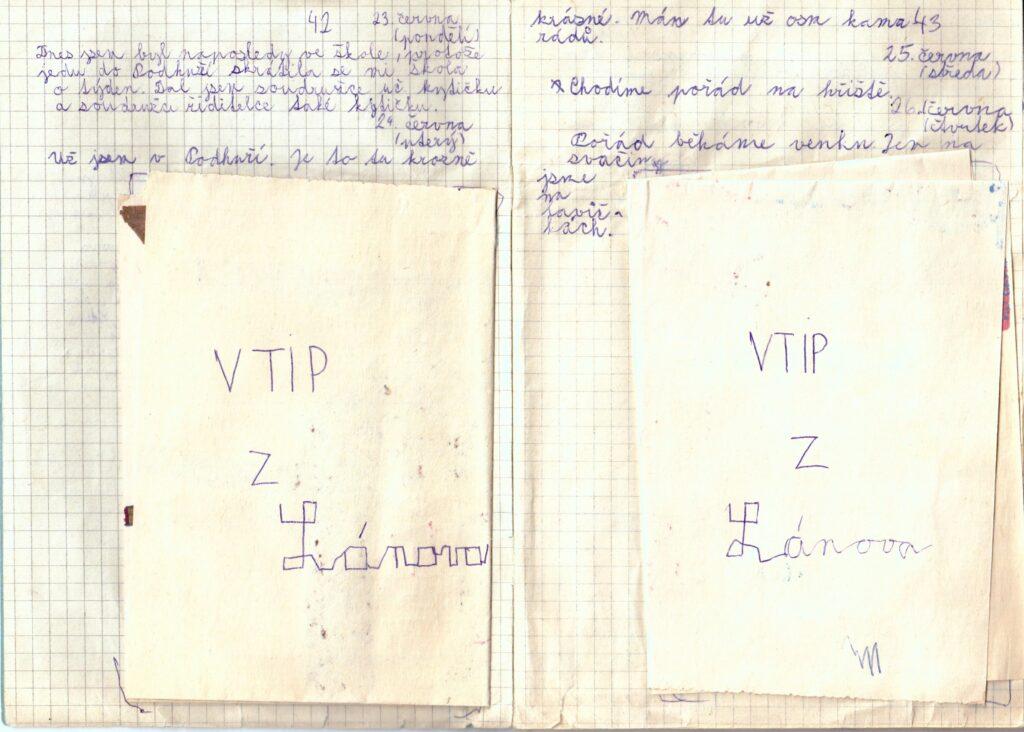 Deník II. - strana 2