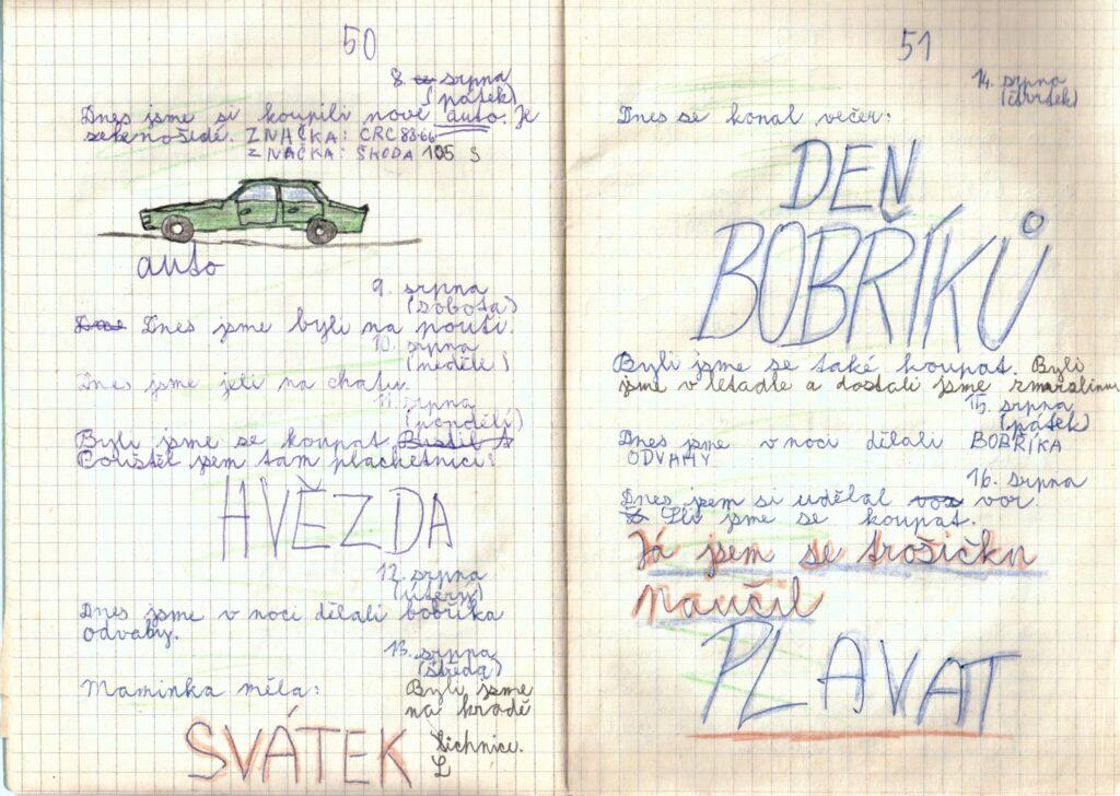 Deník II. - strana 7