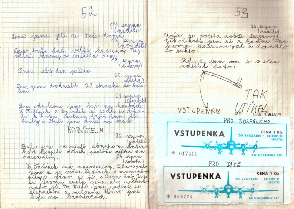 Deník II. - strana 8