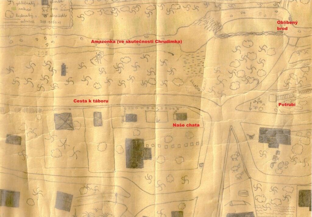 Mapa Seč