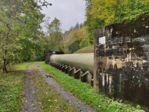 Nové ocelové potrubí