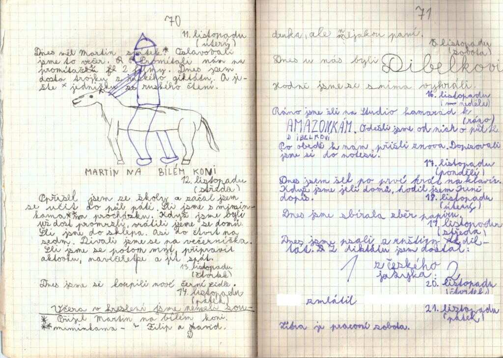 Deník II. - strana 17