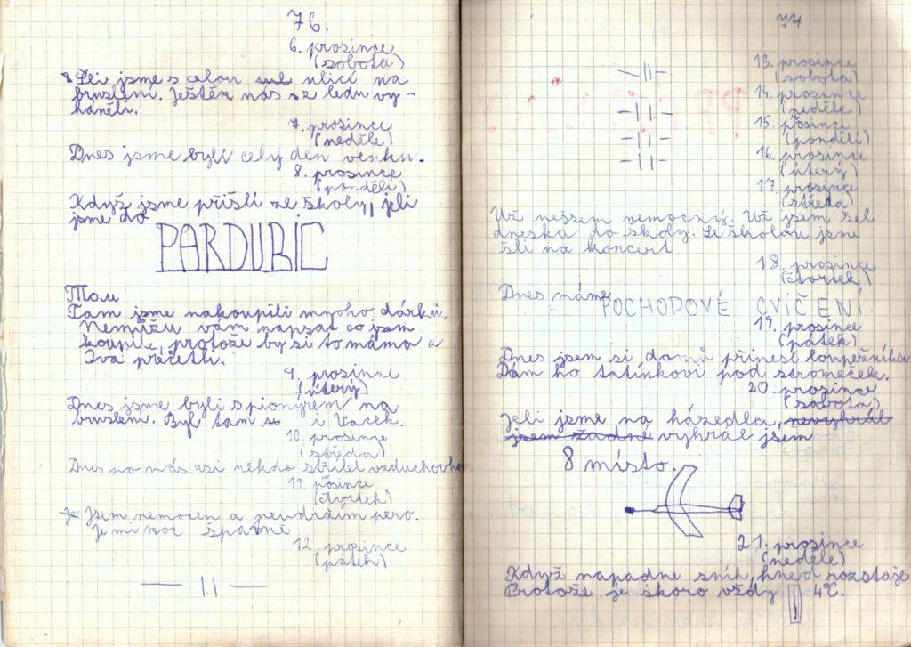 Deník II. - strana 20