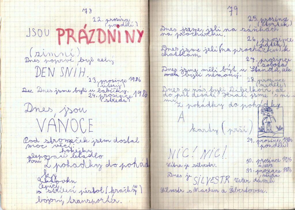Deník II. - strana 21