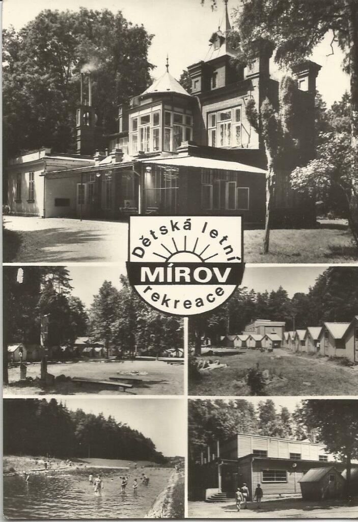 Dětský letní tábor Mírov - pohlednice