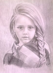 Portrét děvčete