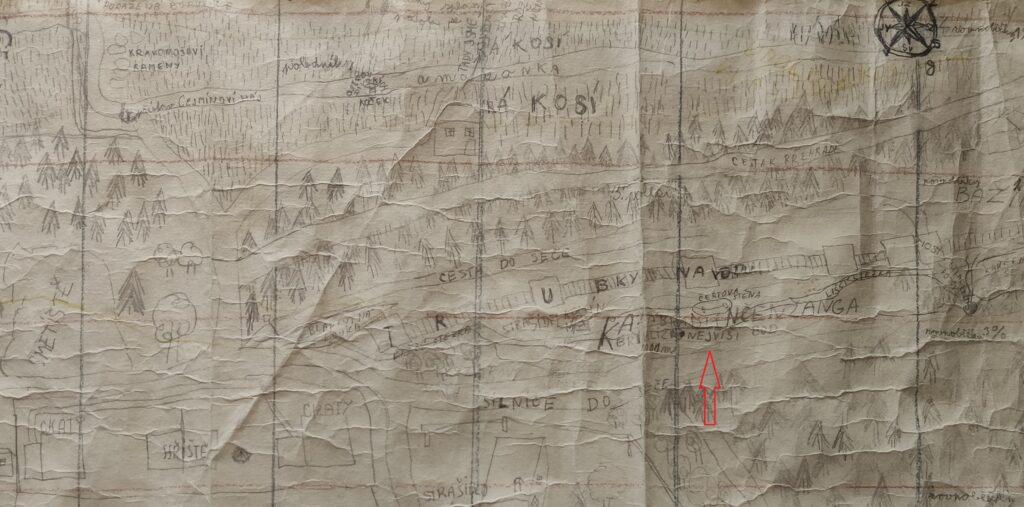 Mapa - Seč - Kančendžanga