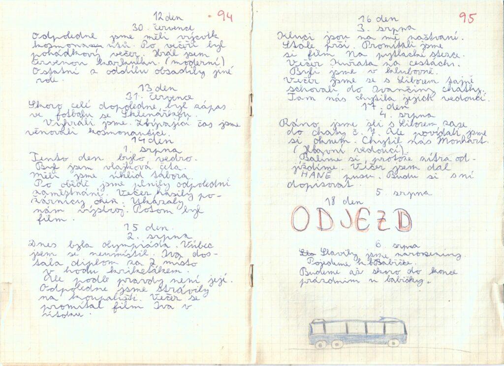 Deník III. - strana 8