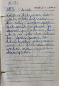 Mini deník III. - 4. ledna 1987