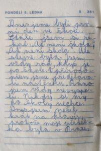 Mini deník III. - 5. ledna 1987