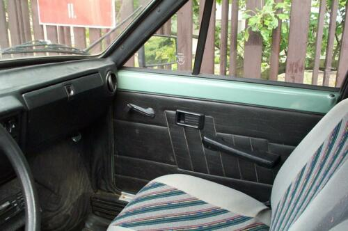 interiér vozu Škoda 105S