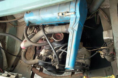 motor vozu Škoda 105S